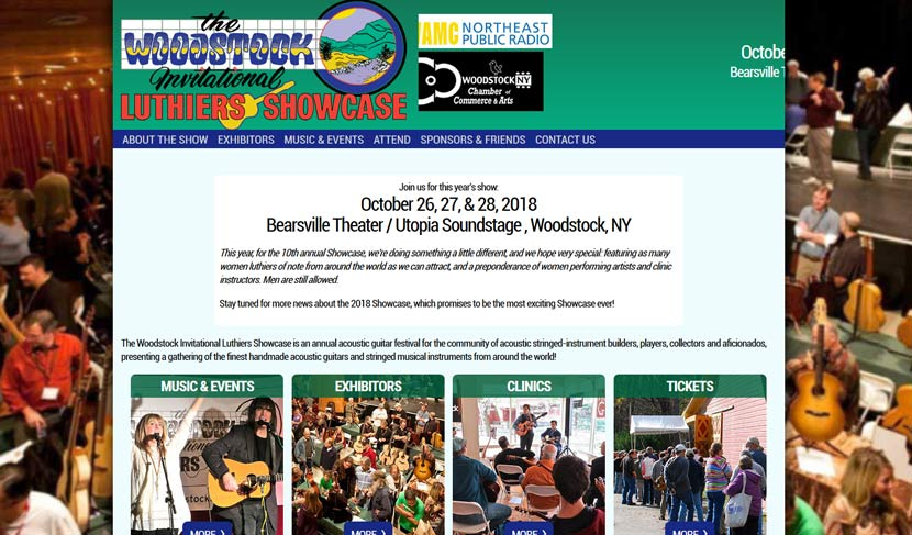 Woodstock Invitational Luthiers Showcase 2018