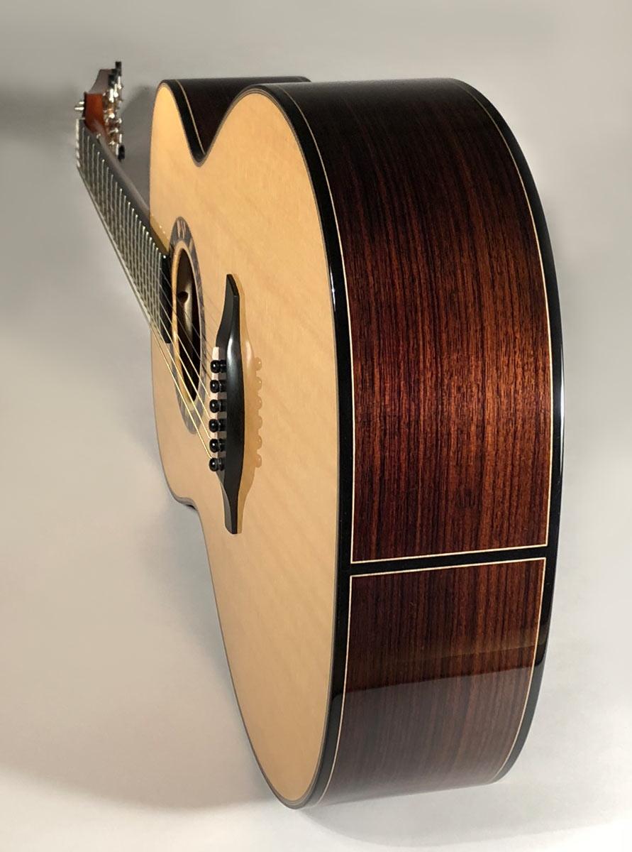 East Indian Rosewood Concert Guitar
