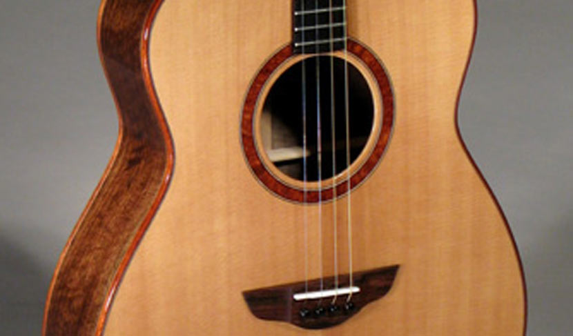 Left-Handed Claro Walnut Tenor Guitar