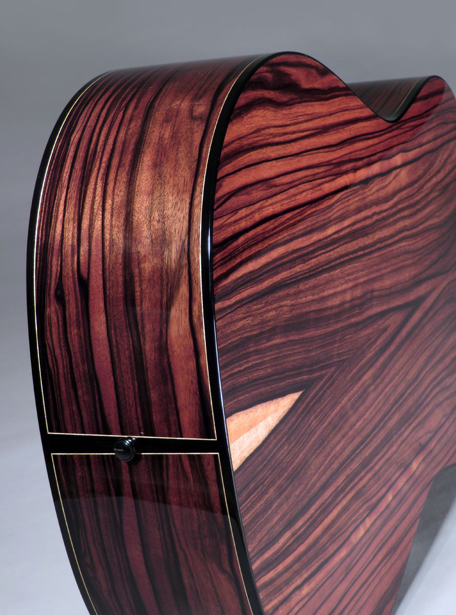 Guinea Striped Ebony Modern Dreadnought