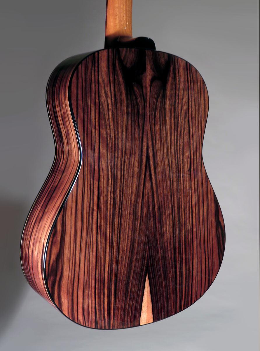 Guinea Striped Ebony Modern Dreadnought