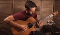 Cedar Concert Cutaway Played by Dustin Furlow